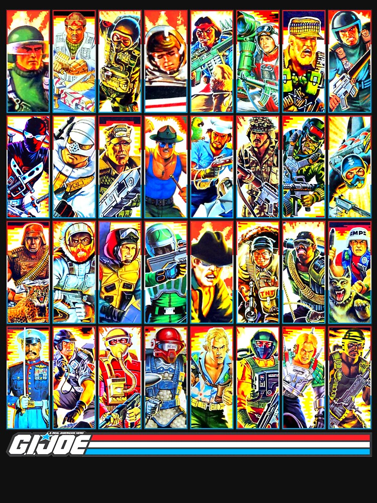 RedBubble: G.I. Joe in the 80s! (Version B)