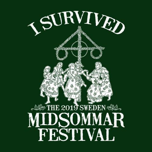 Five Finger Tees: I Survived Midsommar Festival T-Shirt