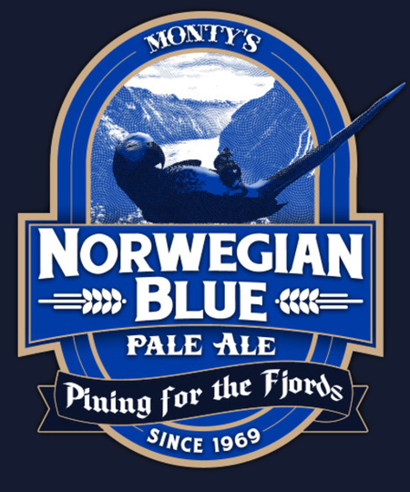 Qwertee: Norwegian Blue Pale Ale