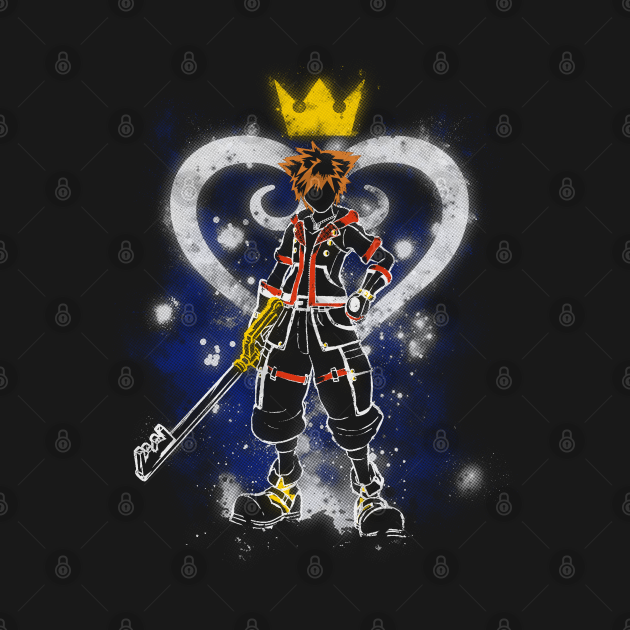 TeePublic: Keyblade boy v1