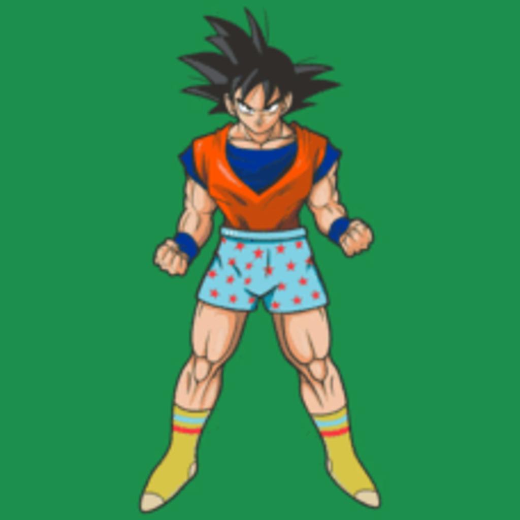 Textual Tees: Casual Goku Pocket T-Shirt