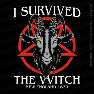 ShirtPunch: I Survived The VVitch