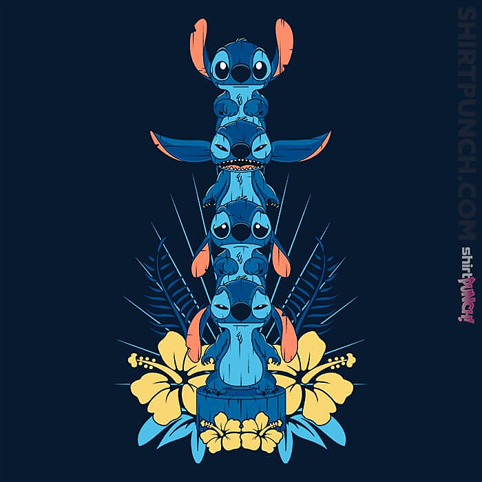 ShirtPunch: Alien Mood Totem