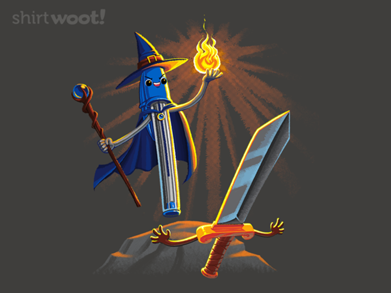 Woot!: The Pen & the Sword