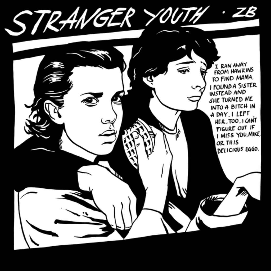 NeatoShop: Stranger Youth Black