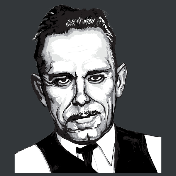 NeatoShop: John Dillinger Gangster Mug Shot
