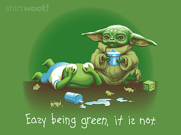 Woot!: Not Easy Baby Green