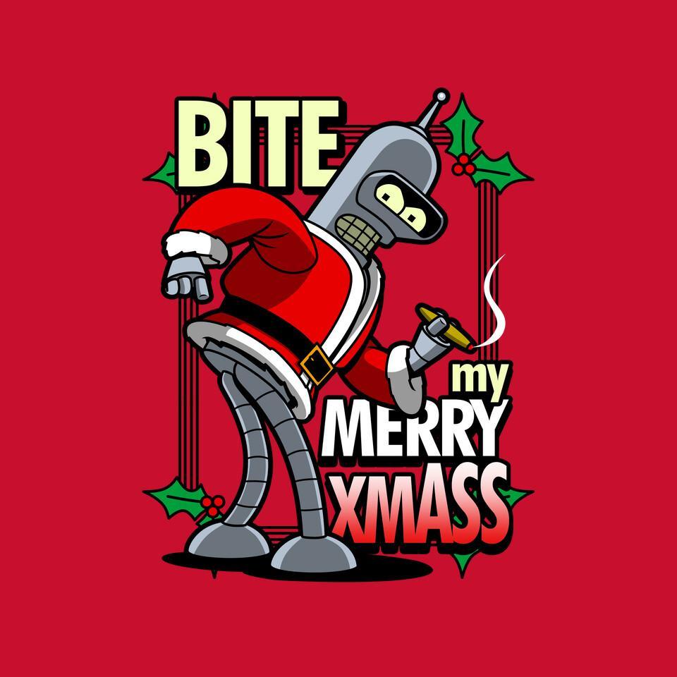 TeeFury: Bite my Merry XmASS
