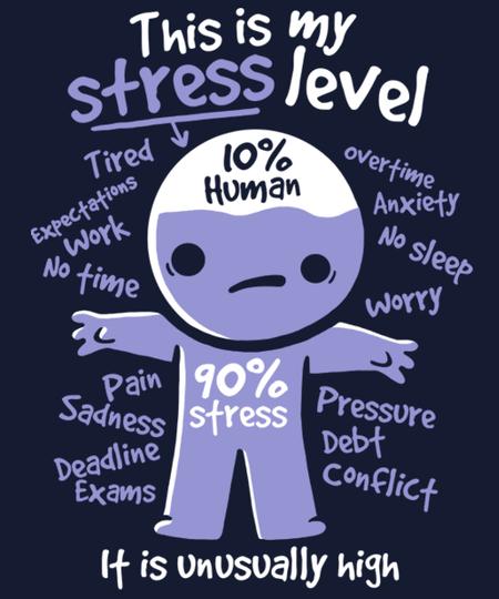 Qwertee: High stress level