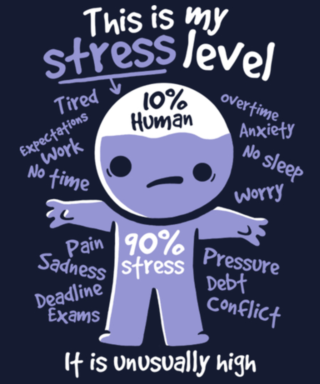 Qwertee: High stress level