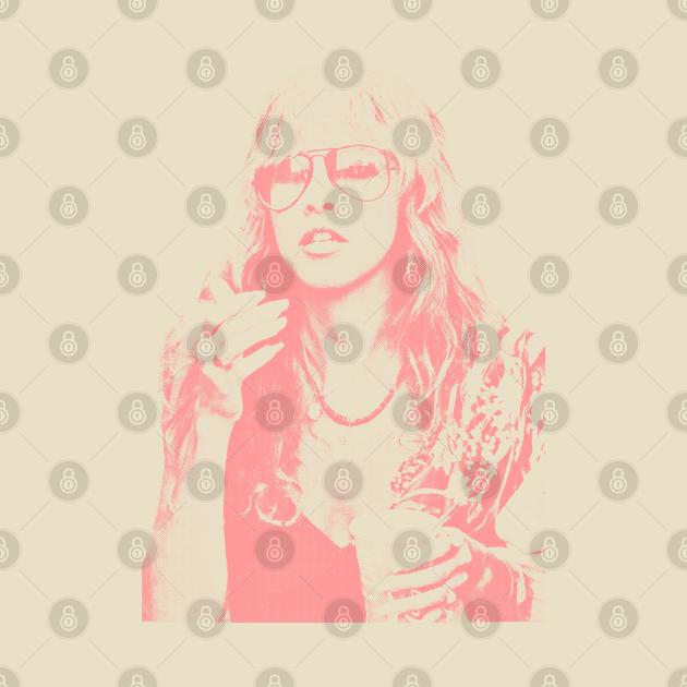 TeePublic: Stevie Nicks - Retro Vintage Styled Design