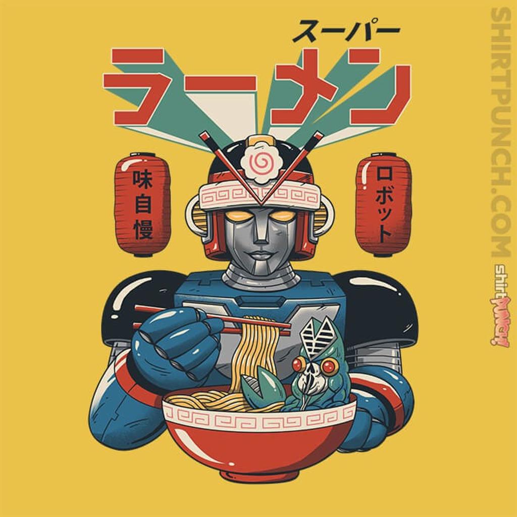 ShirtPunch: Super Ramen Bot