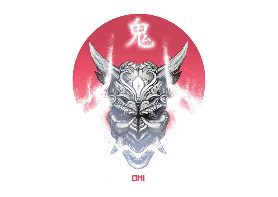TeeFury: Oni Demon