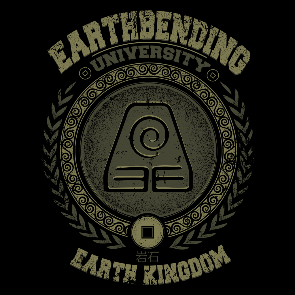 Pop-Up Tee: Earthbending University