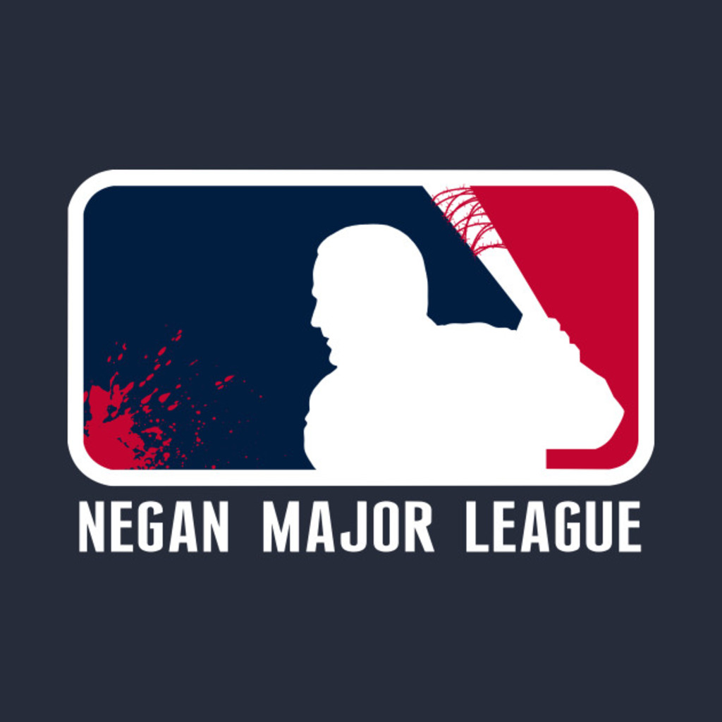 TeePublic: Negan Major League T-Shirt