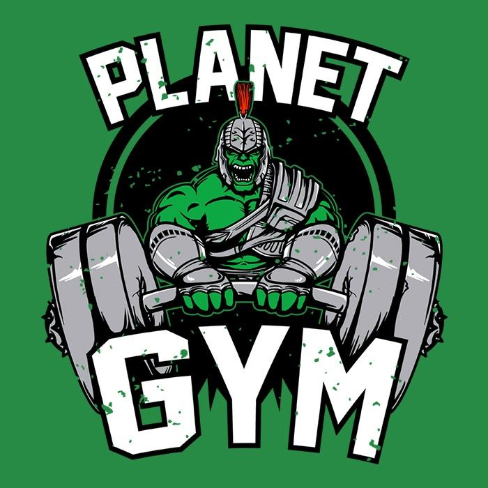 Once Upon a Tee: Planet Gym
