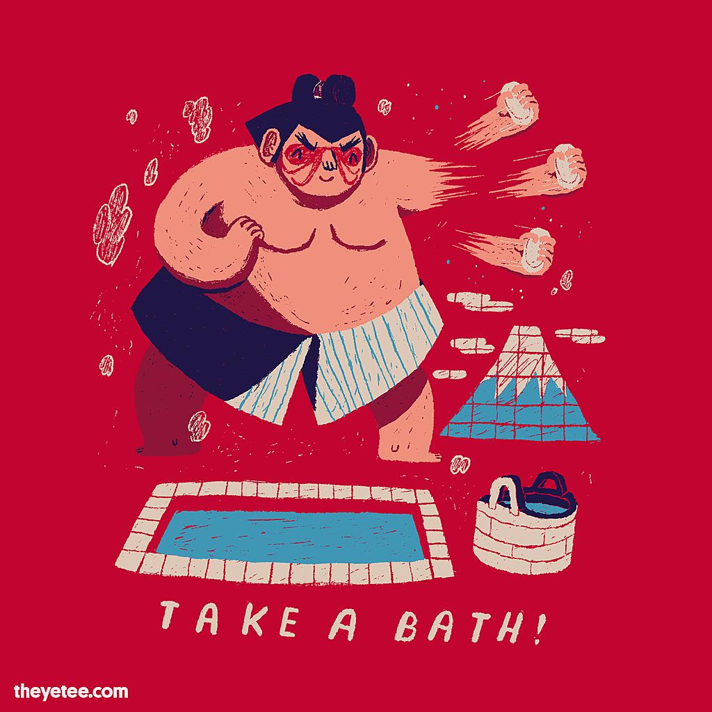 The Yetee: take a bath!