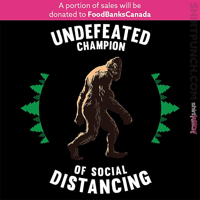 ShirtPunch: Undefeated Champion Of Social Distancing