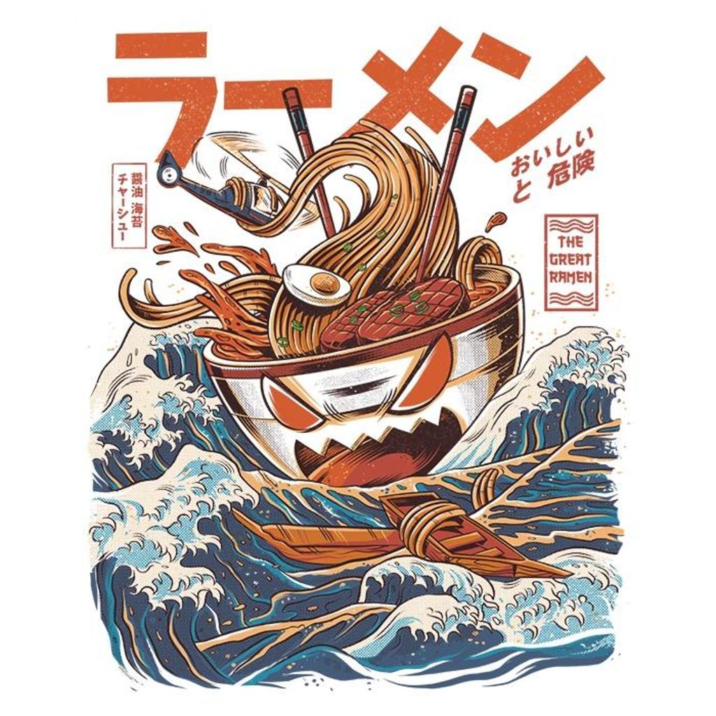Once Upon a Tee: Great Ramen Off Kanagawa