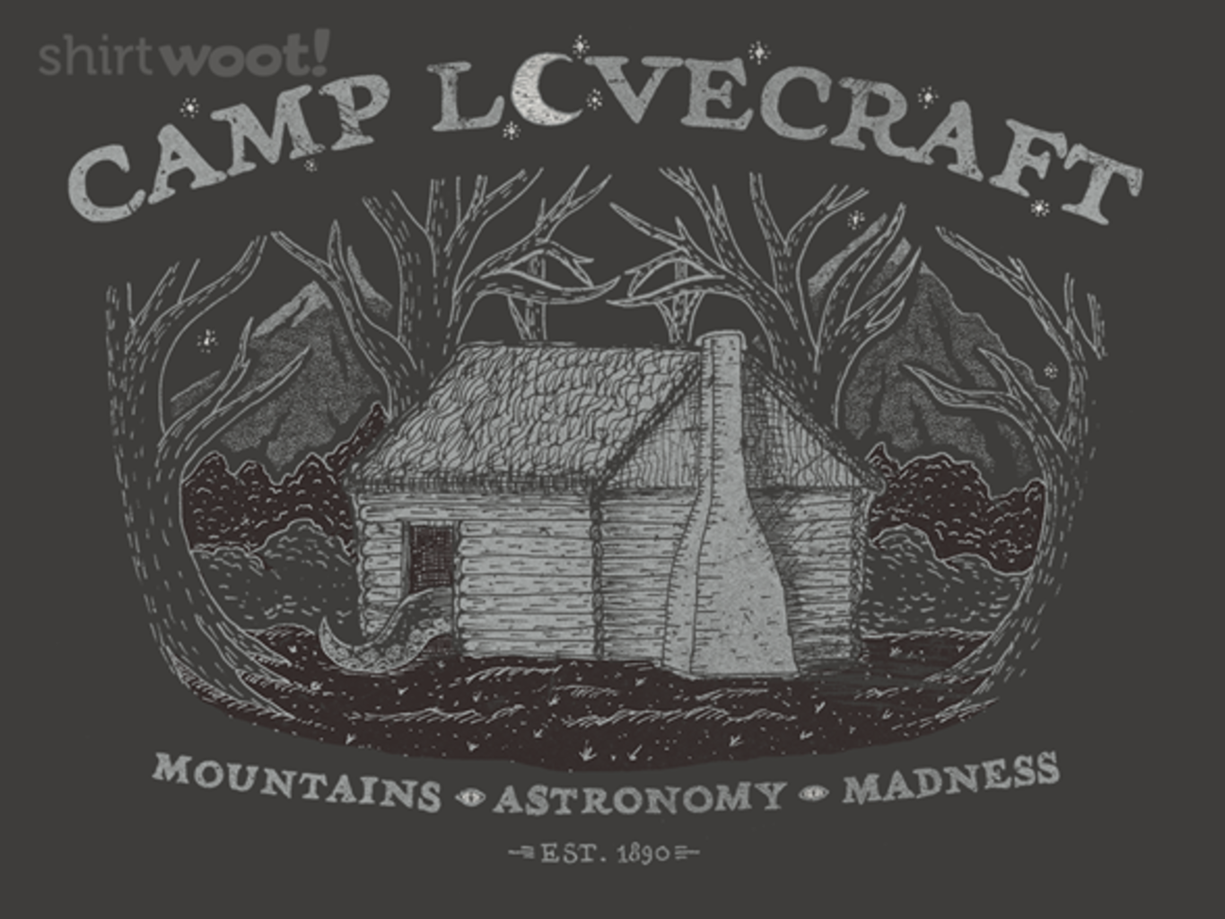 Woot!: Camp Lovecraft - $8.00 + $5 standard shipping