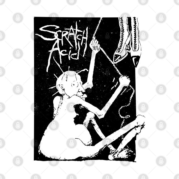 TeePublic: scratch acid as worn by kurt cobain