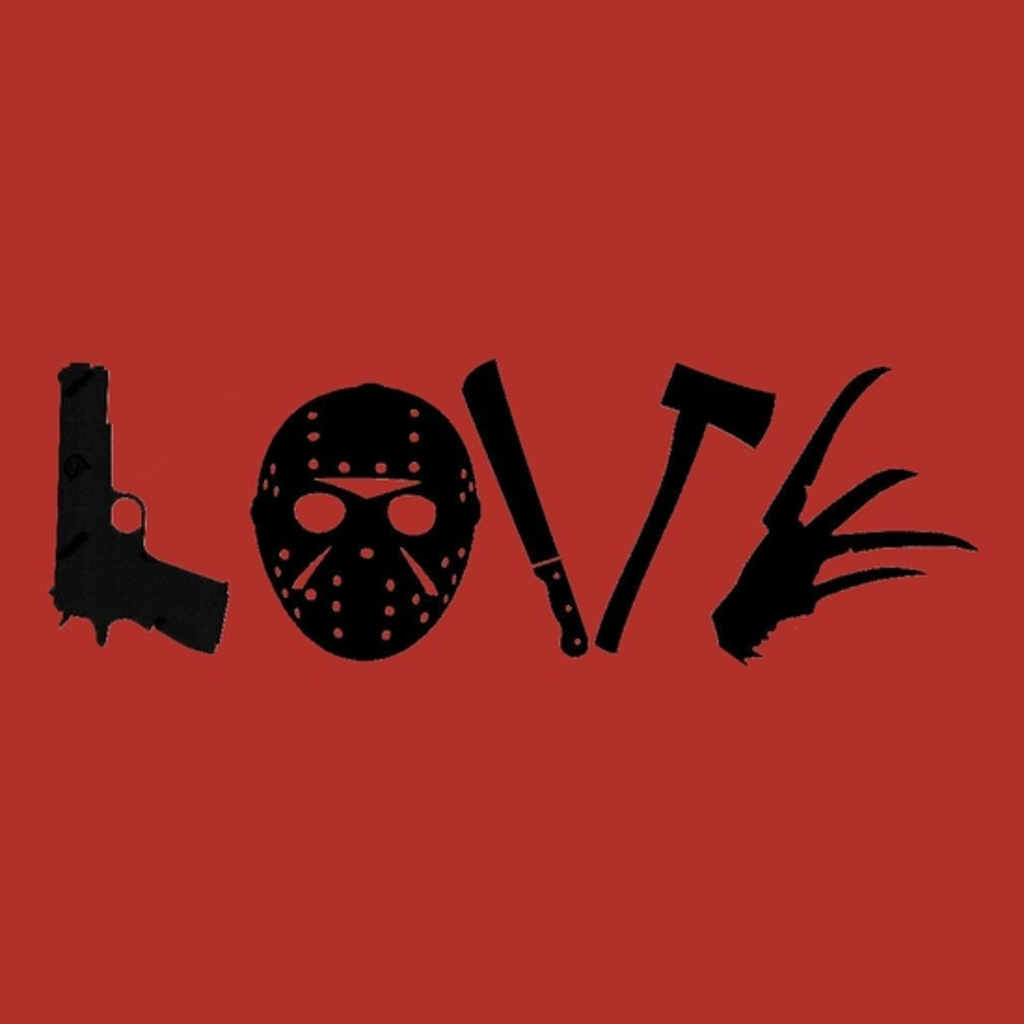 BustedTees: Horror Movie Love