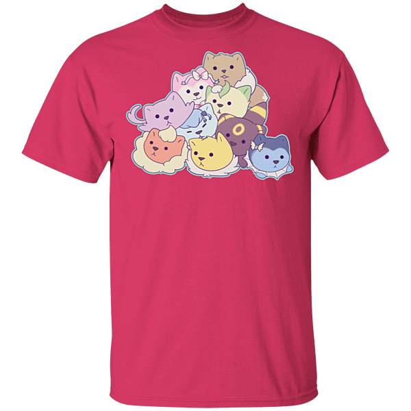 Pop-Up Tee: Cosplay Kitties