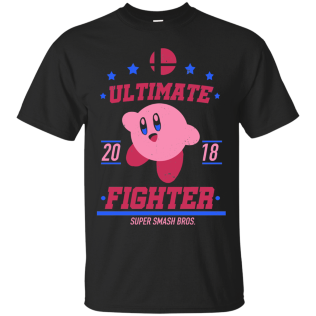 Pop-Up Tee: Ultimate Fighter Kirby