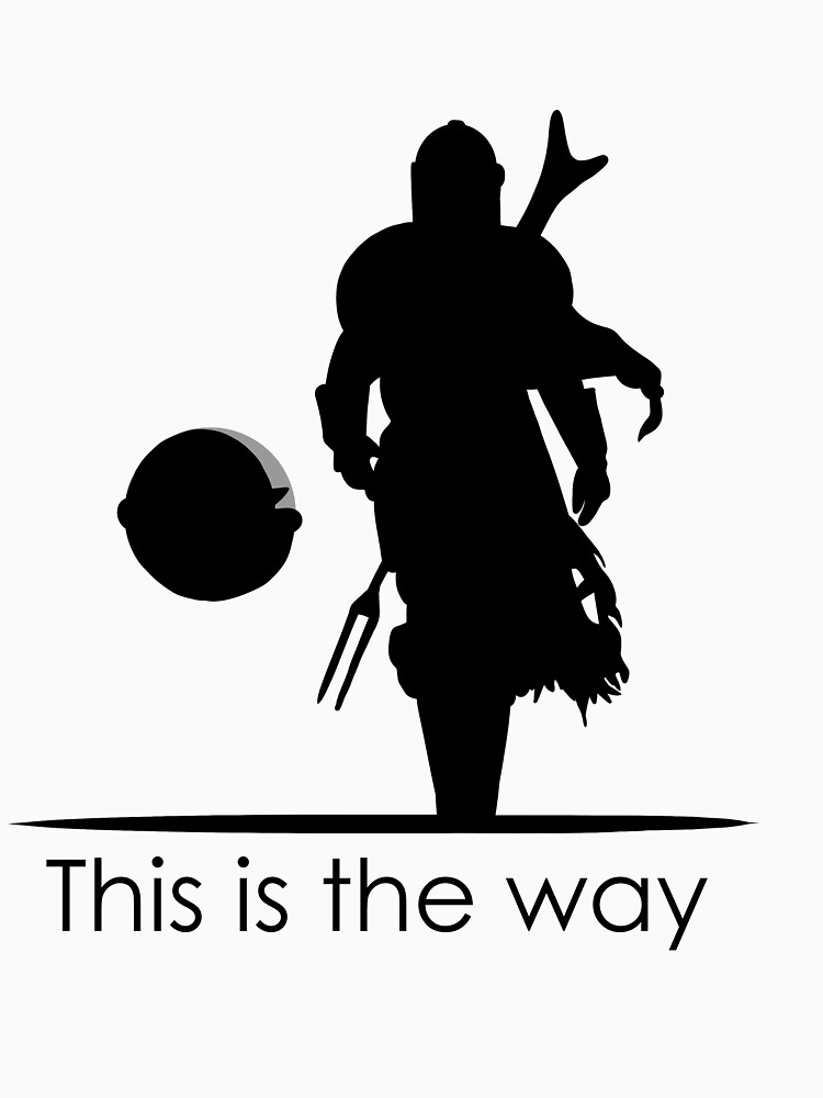 RedBubble: Mando this is the way