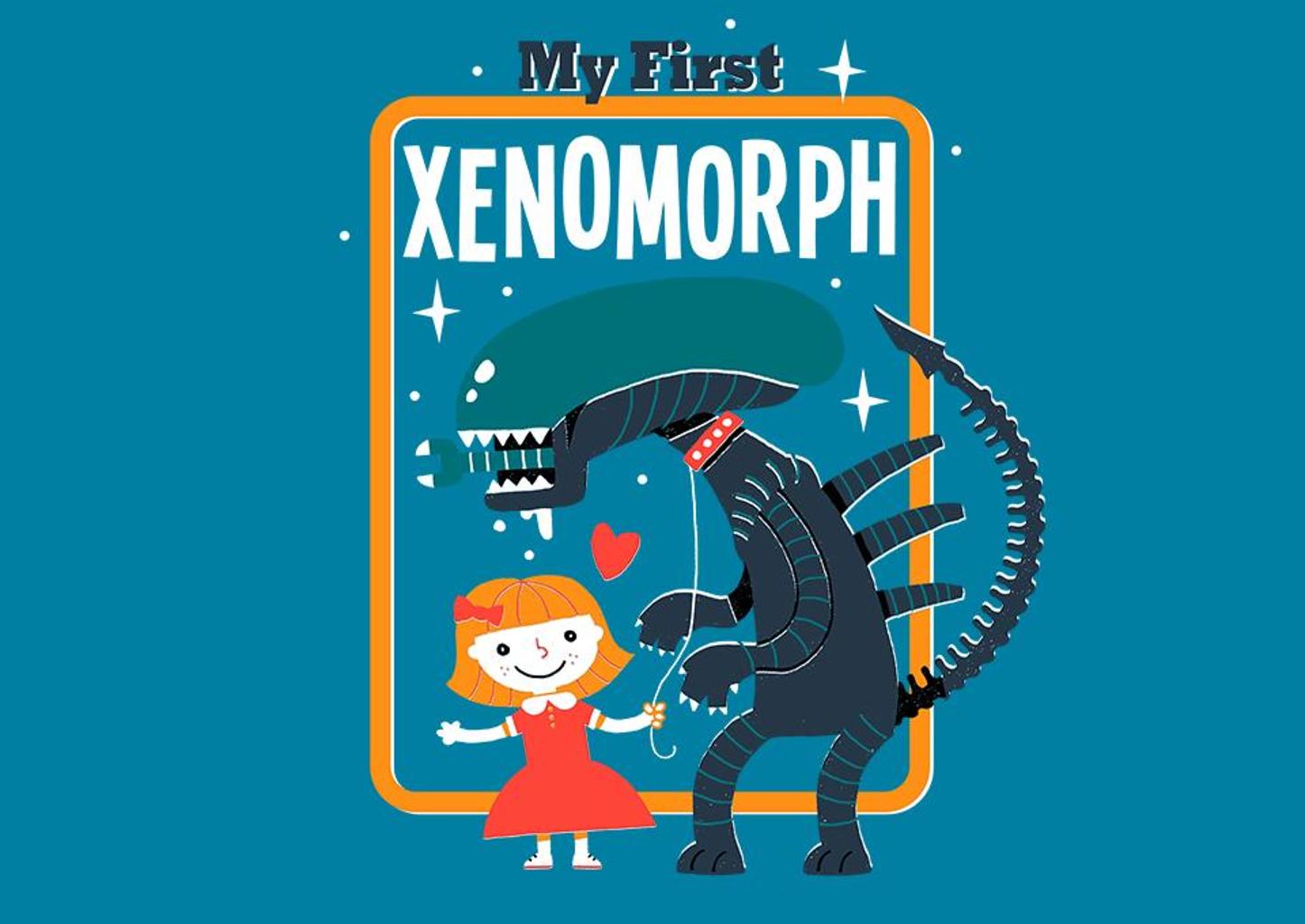 TeeFury: My First Xenomorph