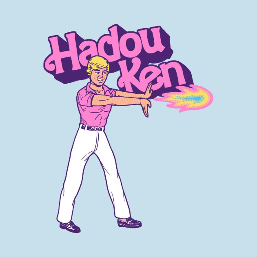 TeePublic: Hadou Ken