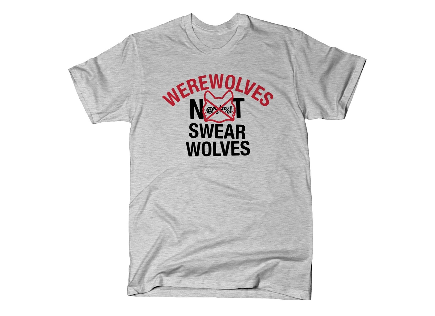 SnorgTees: Werewolves Not Swearwolves