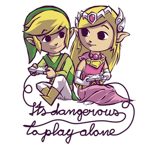 Once Upon a Tee: It's Dangerous to Play Alone