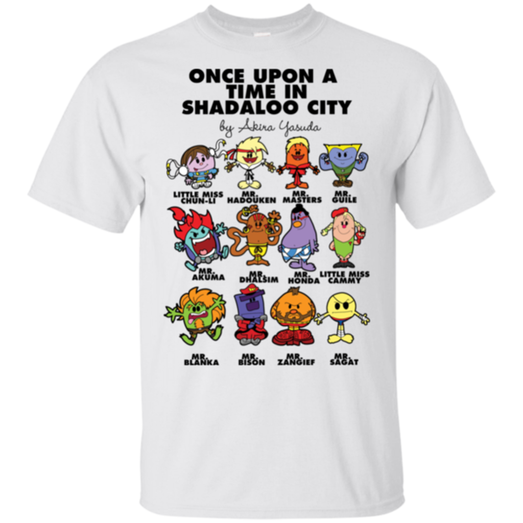 Pop-Up Tee: Once Upon A Time In Shadaloo