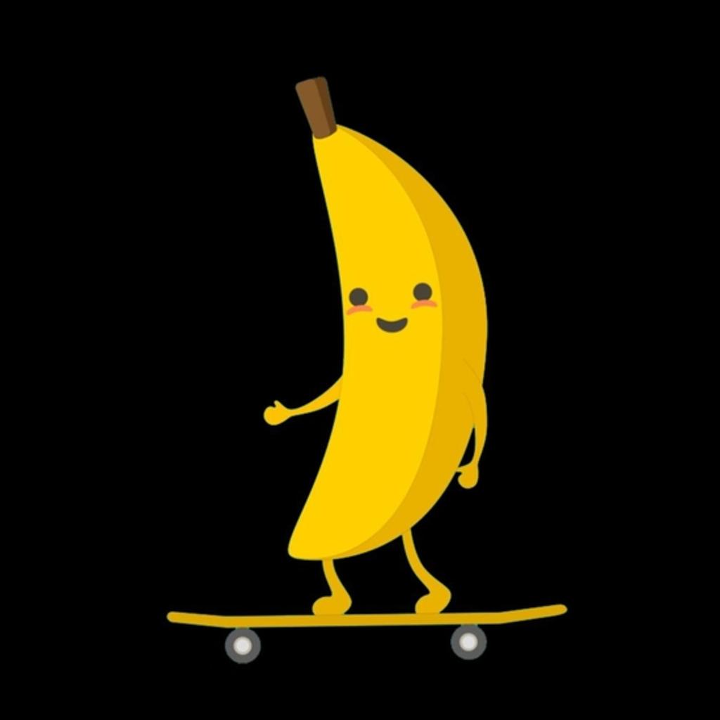 BustedTees: Banana Skater