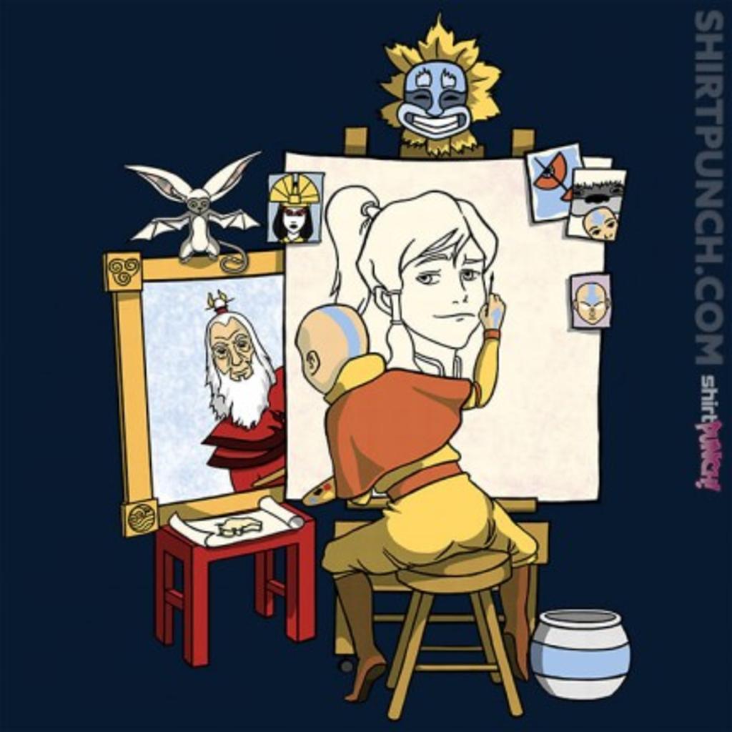 ShirtPunch: Me, Myself, And Aang