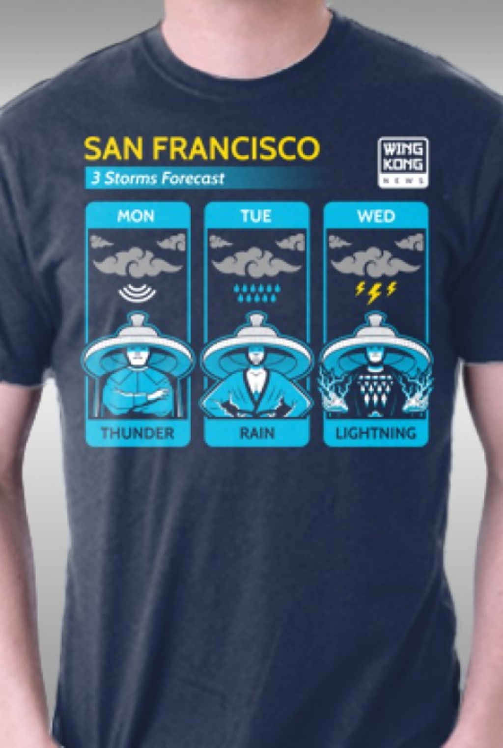TeeFury: Three Storms