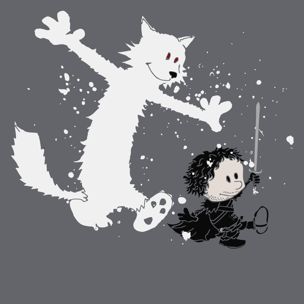 Pop-Up Tee: Ghost and Snow