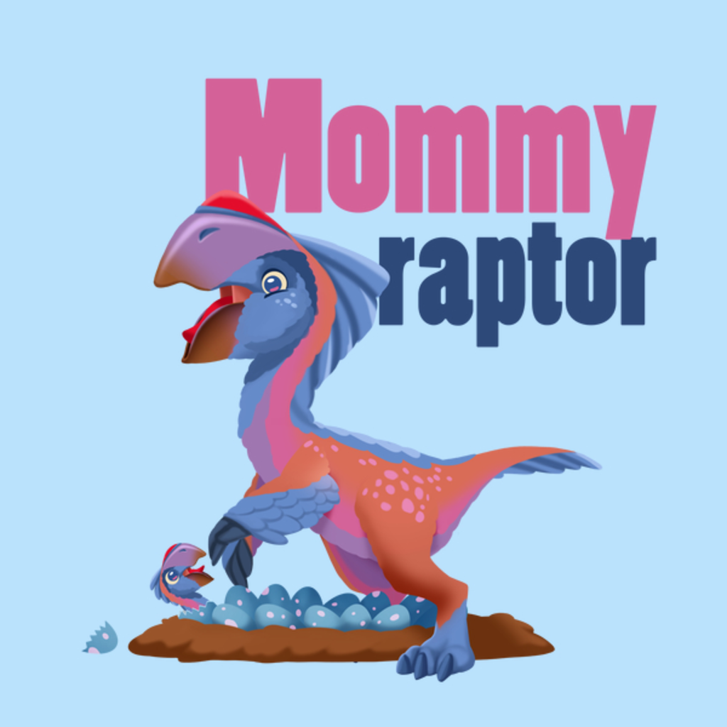 NeatoShop: Mommyraptor Matching Family Shirt