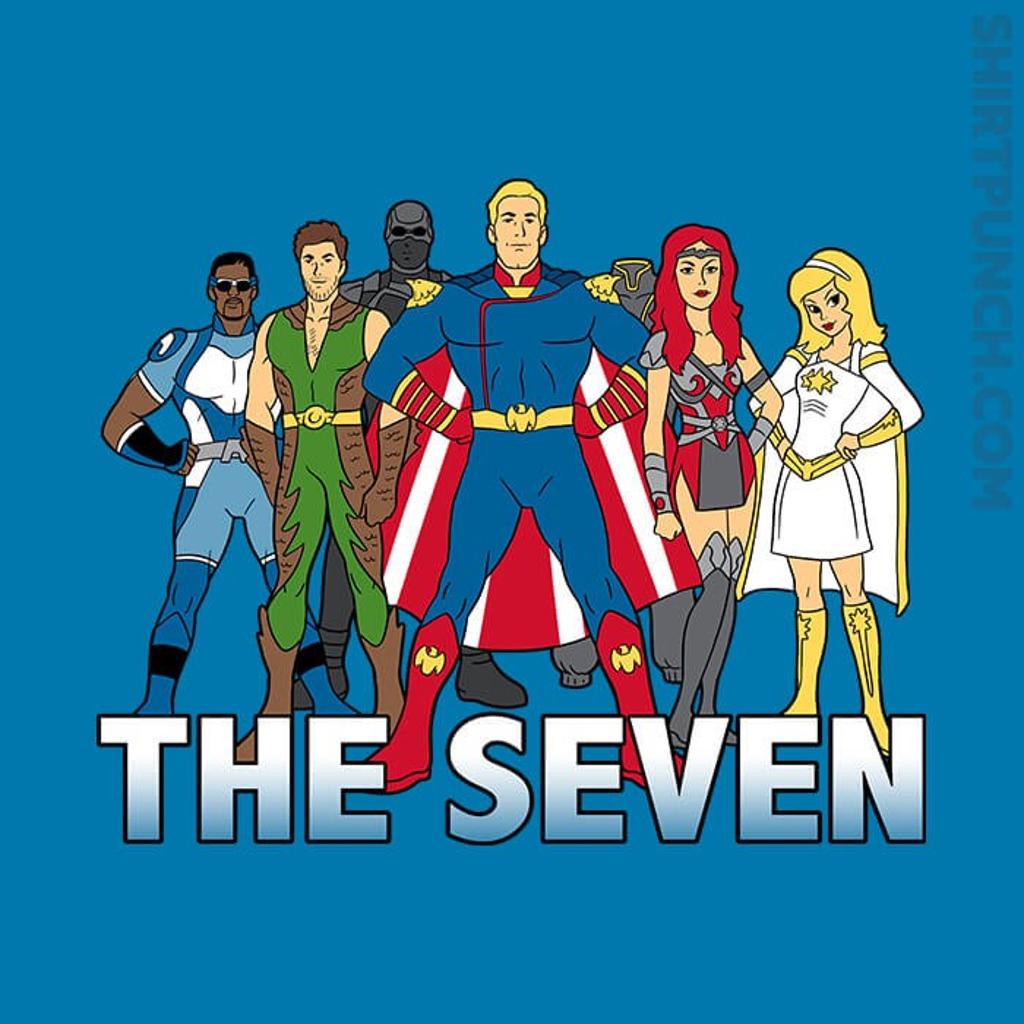 ShirtPunch: Cartoon Seven