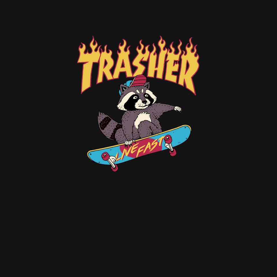 TeeFury: Trasher