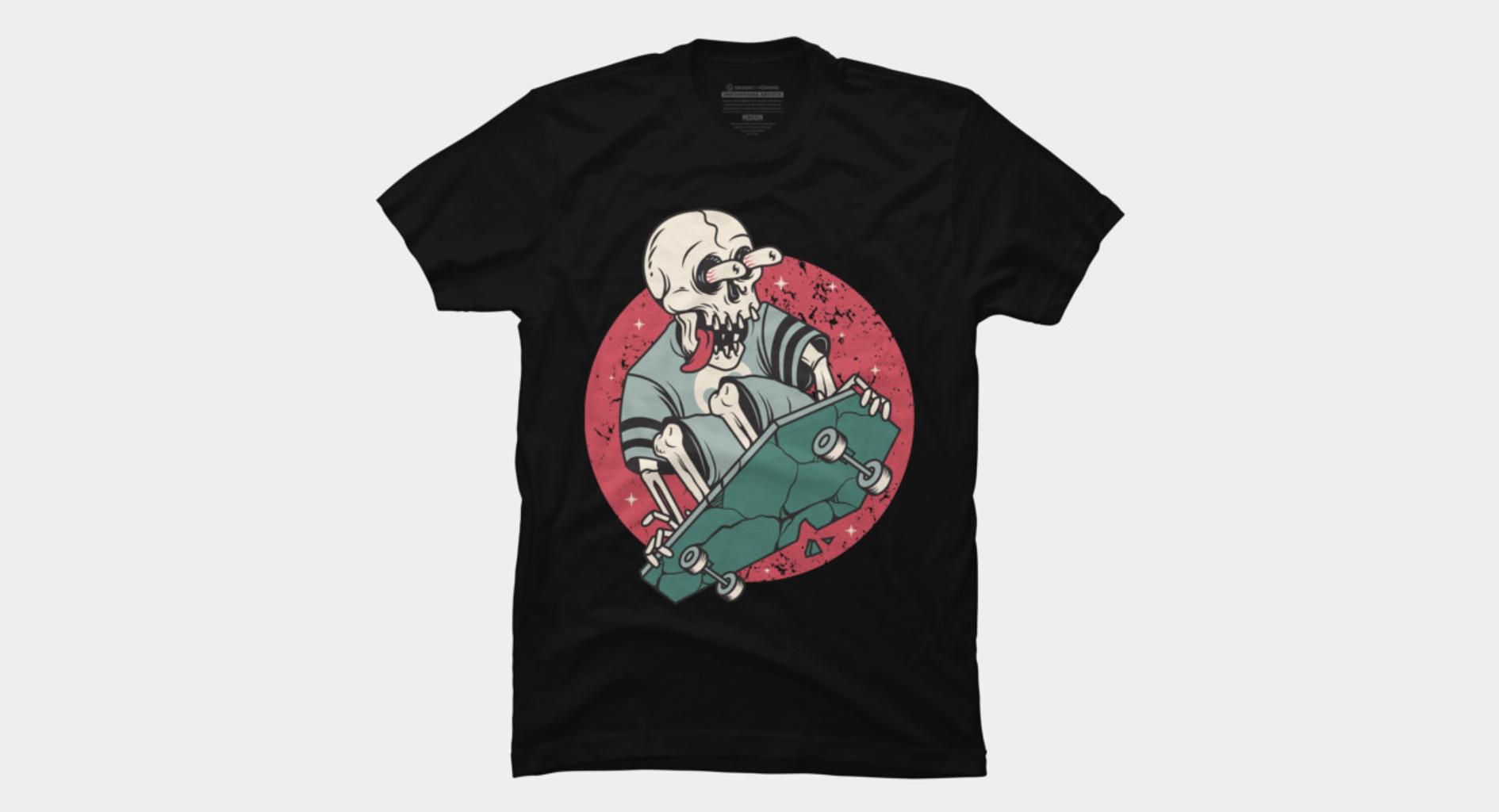 Design by Humans: Skullboarding