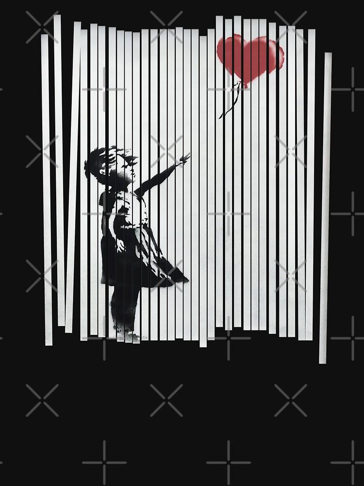 RedBubble: Hey! I Fixed It! Banksy Shredded Balloon Girl