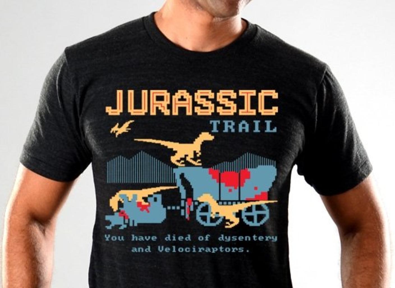 SnorgTees: Jurassic Trail Limited Edition Tri-Blend