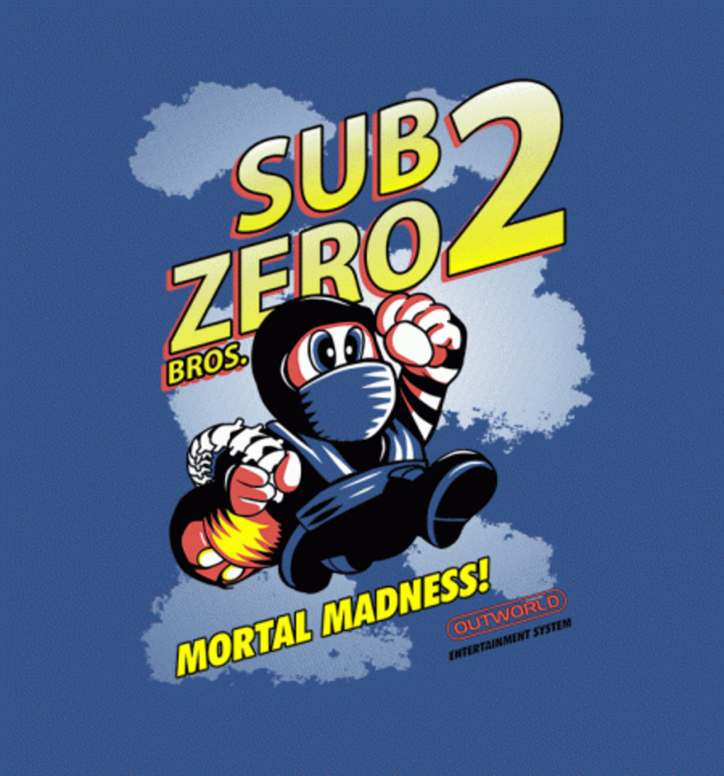 BustedTees: Super Sub Zero Bros