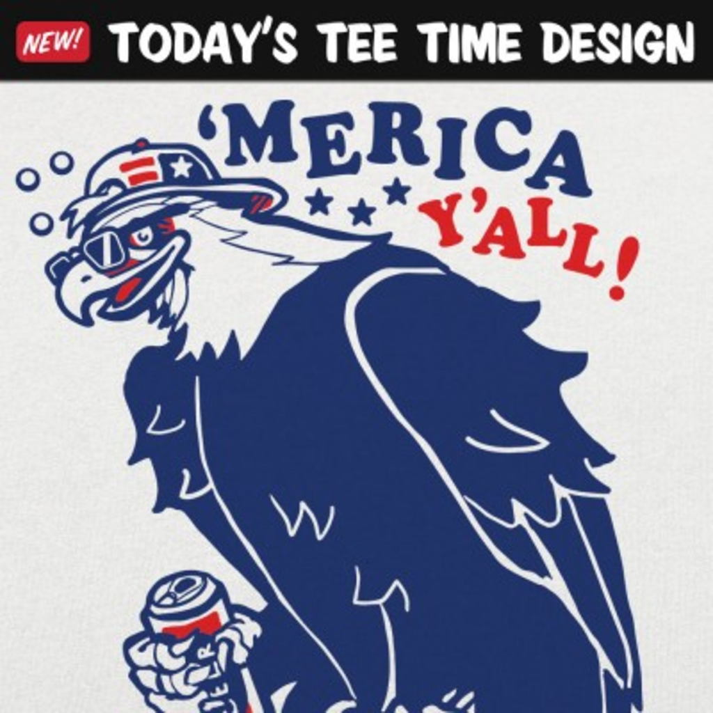 6 Dollar Shirts: Party Eagle