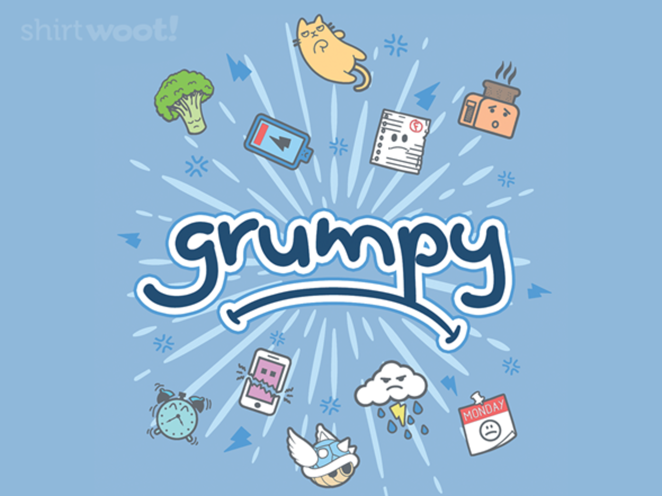 Woot!: This is My GRUMPY Shirt! - $15.00 + Free shipping