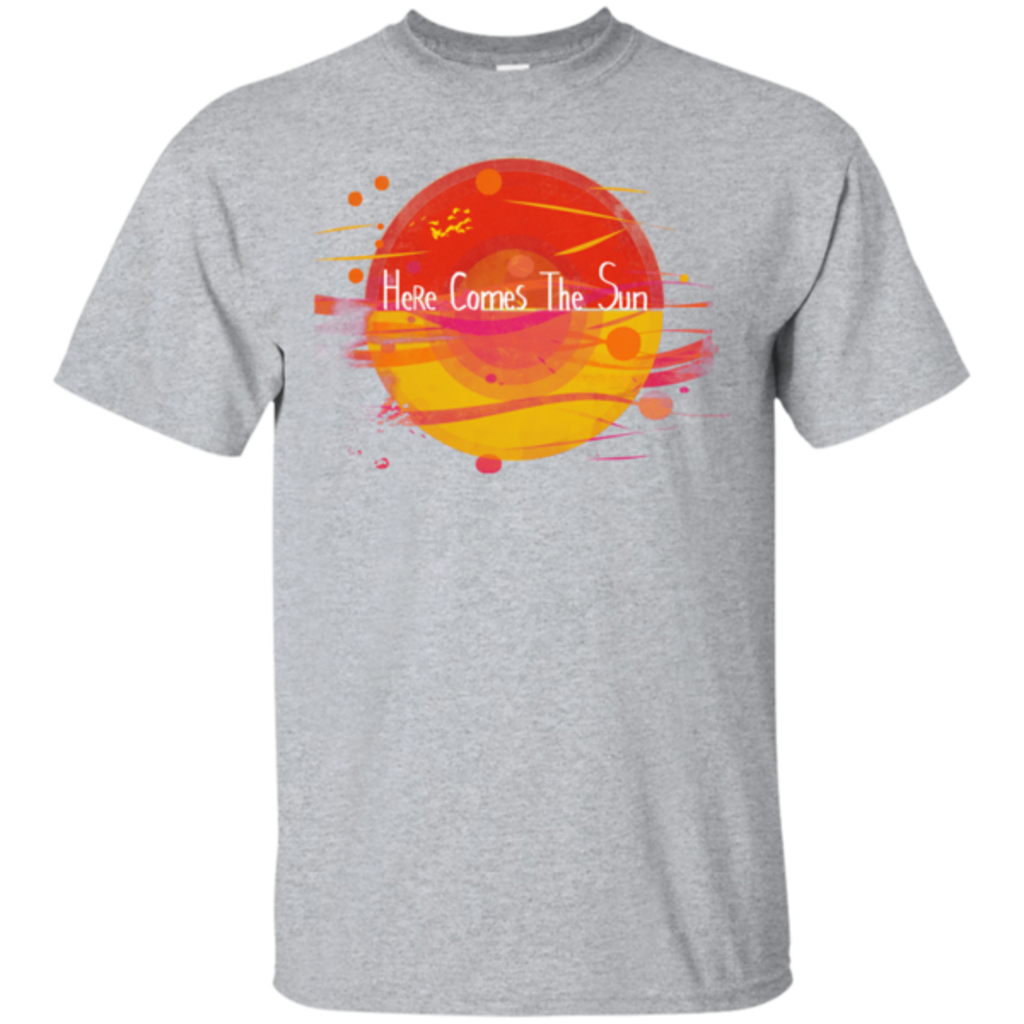 Pop-Up Tee: Here Comes The Sun (1)