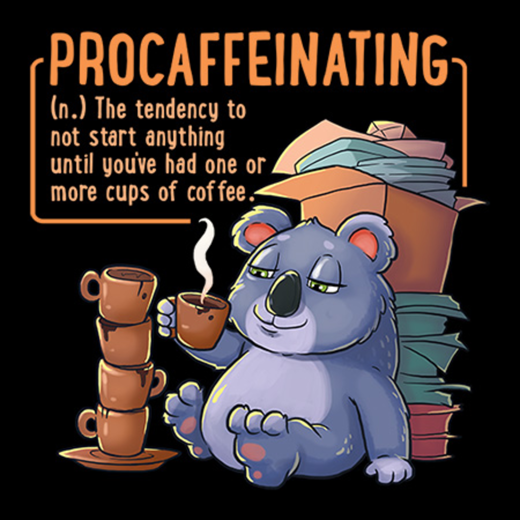 MeWicked: Procaffeinating - Cute Koala Coffee Bear