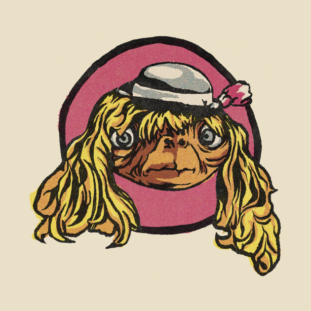 TeePublic: E.T. - The Extra-Terrestrial - Disguise